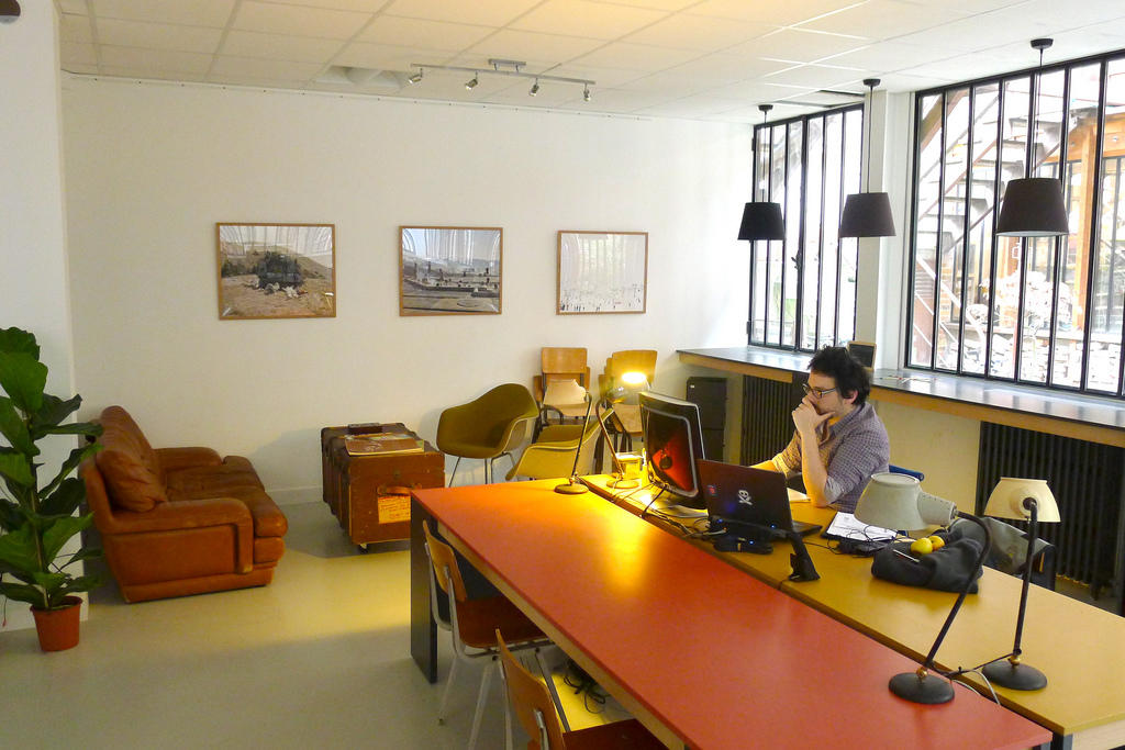 a co-working space in Bangkok | siam startup