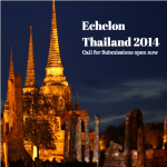 Submissions for Echelon Thailand 2014 Open Until July 25